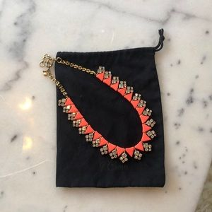 J. Crew Neon and Crystal Necklace ❤️📿
